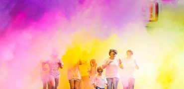 RAF Association Colour Chaos Run participants